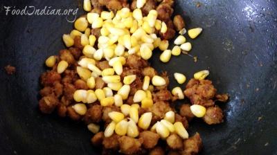 chilli soya corn