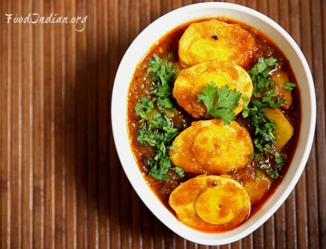 bengali egg curry 17