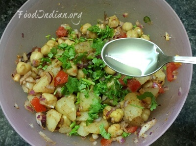 chana chaat 4