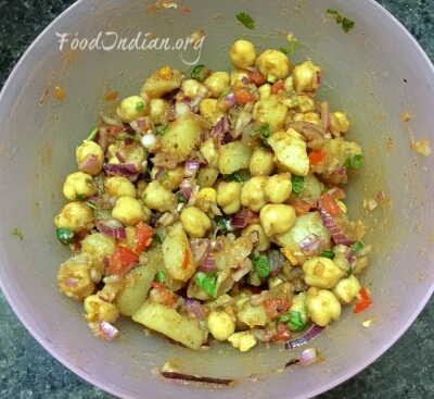 chana chaat 5