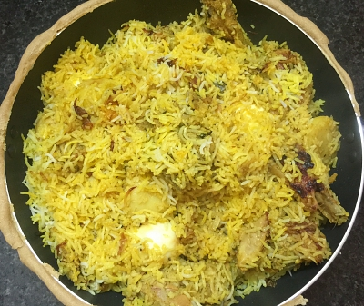 chicken biryani 35