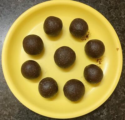 chocolate dates laddu 15