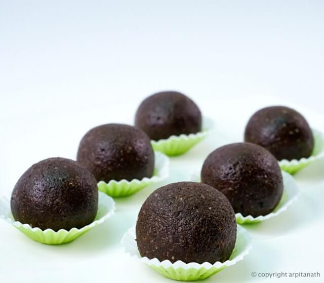 chocolate dates laddu 4
