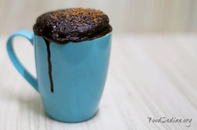 chocolate mug cake 14