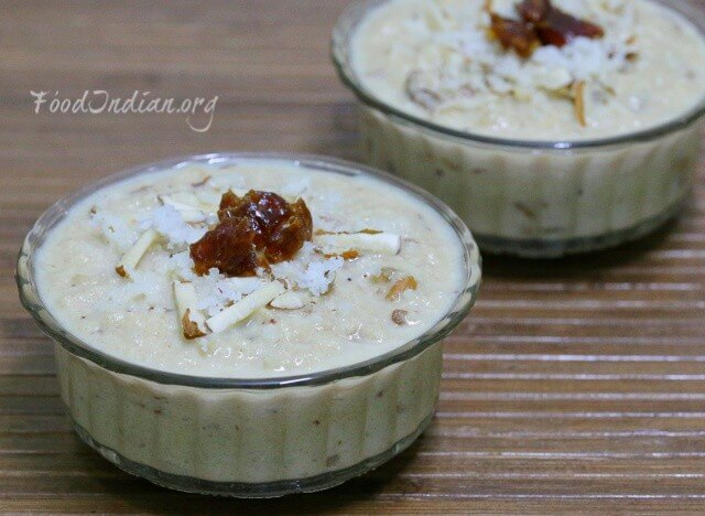 coconut dates kheer 9