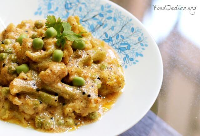 curd coliflower curry 13