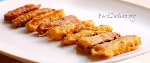 Beguni recipe crispy eggplant finger food indian eggplant fingers 9 forumfinder Gallery