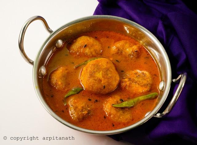 kanchkolar kofta curry 22