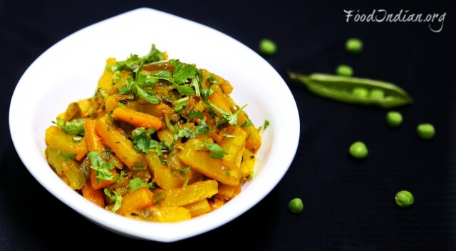 mixed vegetable curry 16