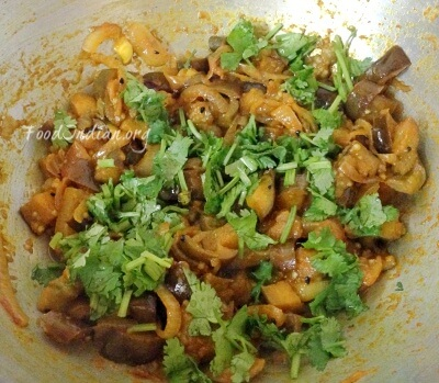 onion eggplant stir fry 6