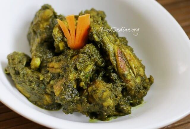 palak chicken 15ed