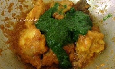 palak chicken 9