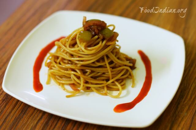 pasta with red sauce 12