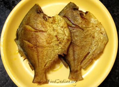 pomfret fish red curry 9