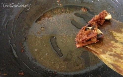 prawn curry with coconut gravy 4