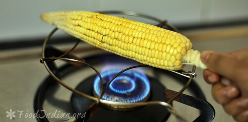 Smoked corn on the cob recipe how to roast corn on a gas stove smoked corn 3 ccuart Image collections