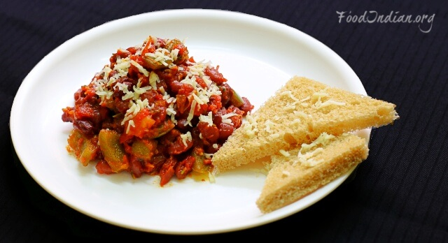 tomato kidney bean curry 12