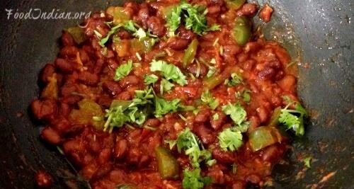 tomato kidney bean curry 9