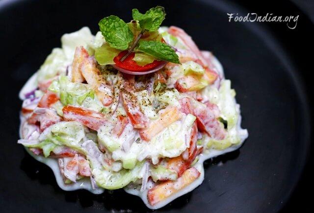 vegetable yogurt salad 2