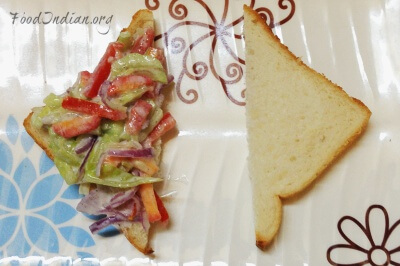 vegetable yogurt sandwich 8