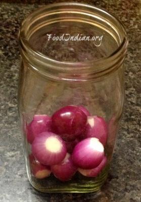 vinegar onion 2